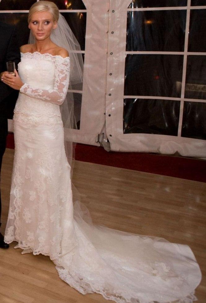 Przepiękna Hiszpańska Suknia ślubna Rondalla St Patrick Suknie