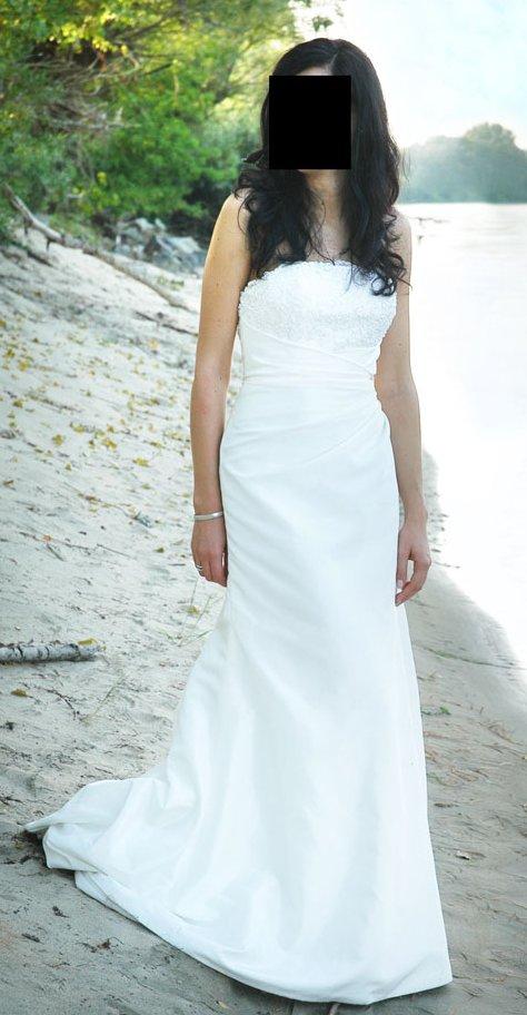 Francuska Suknia ślubna Dla Wysokiej Dziewczyny Suknie ślubne