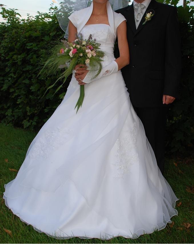 Suknia ślubna Biała Z Kolekcji Ms Moda 2008 Suknie ślubne