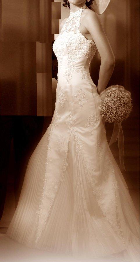 śliczna Suknia ślubna Stylizowana Na Lata 20 Suknie ślubne