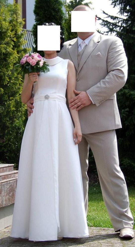 Jednoczęściowa Suknia ślubna Może Być Dla Ciężarnej Suknie ślubne