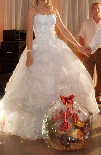Błyszcząca Ksiżniczka Niespotykana Suknie ślubne Sprzedaż