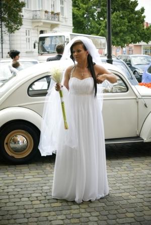 Sprzedam Elegancką Suknię ślubną Projektu Evy Sass Model Greczynka