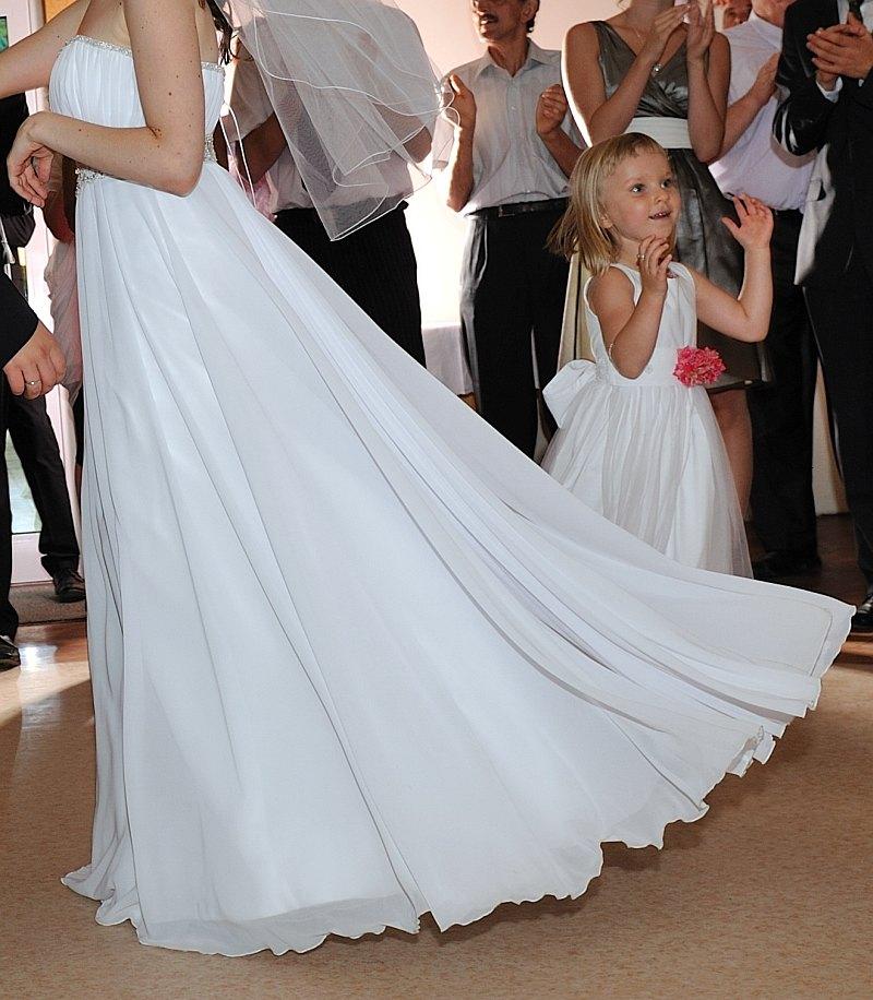 Delikatna Zwiewna Suknia ślubna Suknie ślubne Sprzedaż