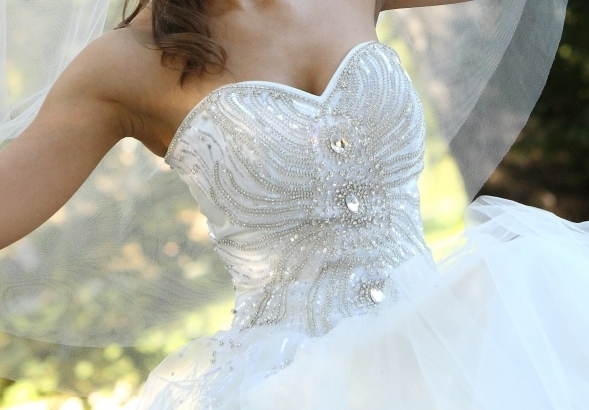 Suknia Z Kamykami Swarovskiego Roz 3436 Suknie ślubne