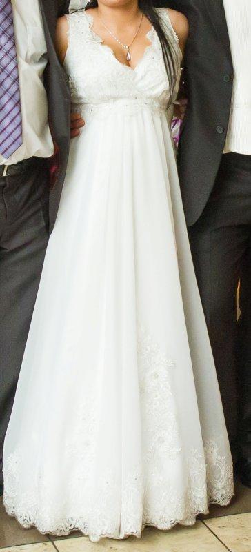 śliczna Suknia ślubnamoże Być Ciążowa Suknie ślubne Sprzedaż