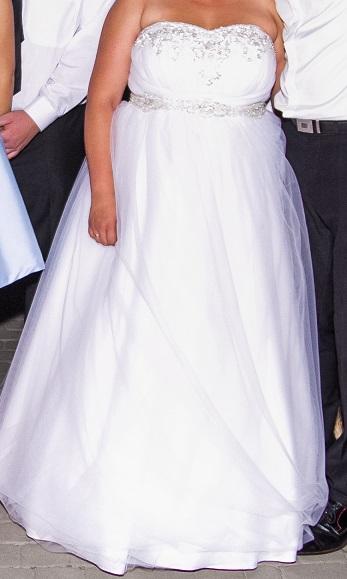 Chwalebne Suknia ślubna PRINCESSA, kryształy SWAROVSKI :: suknie ślubne EY48