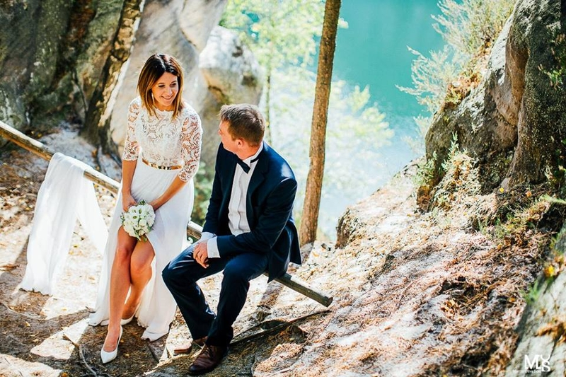 Suknia ślubna Mabell Viola Piekut Suknie ślubne Sprzedaż