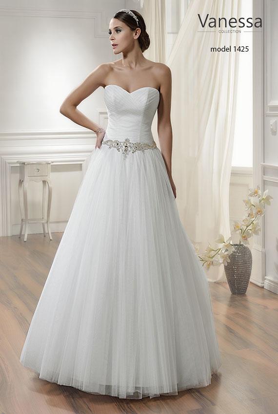 Nowa Suknia ślubna Vanessa 36 38 Kolor Ivory Suknie ślubne