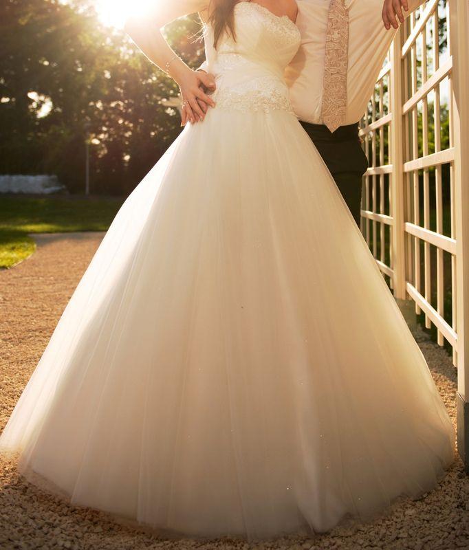 f474a0b178 Suknia Slubna Tiulowa    suknie ślubne - sprzedaż    Komis ślubny