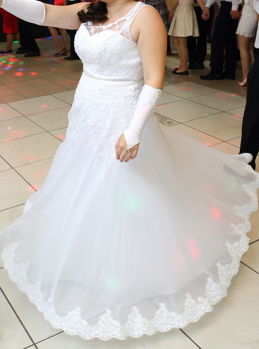 Biała Suknia ślubna Może Być Ciążowa Suknie ślubne Sprzedaż