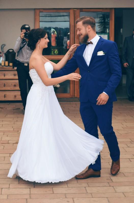 Zwiewna I Delikatna Suknia ślubna Agnes Suknie ślubne Sprzedaż