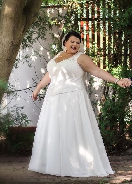 b0d5c708861163 Przepiękna suknia ślubna dla puszystej Ideo Design :: suknie ślubne ...