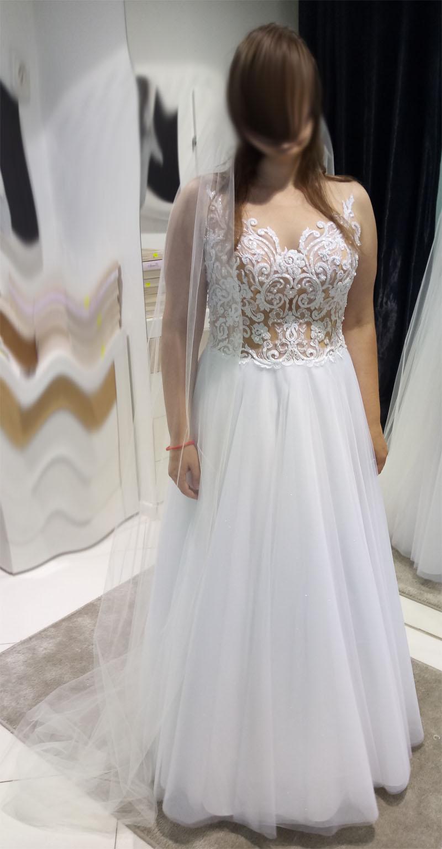 6531ed91ae Suknia ślubna Antonella z kolekcji White Lady    suknie ślubne ...