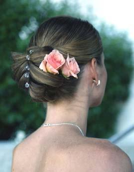 Kwiaty We Włosach Fryzury ślubne