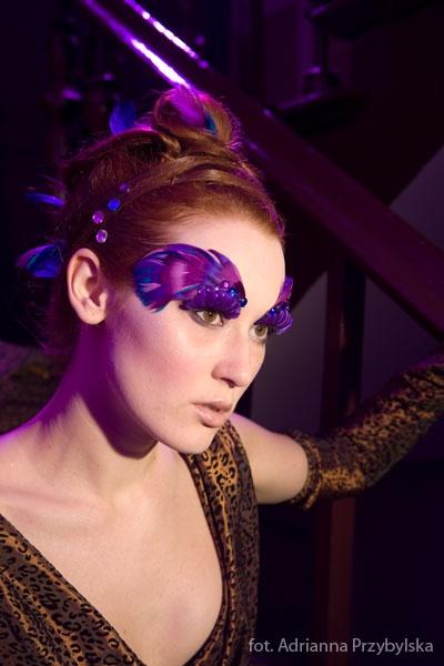 Fotograf Adrianna Przybylska, Modelka Natalia Wojnowska - makijaz-sylwestrowy-10