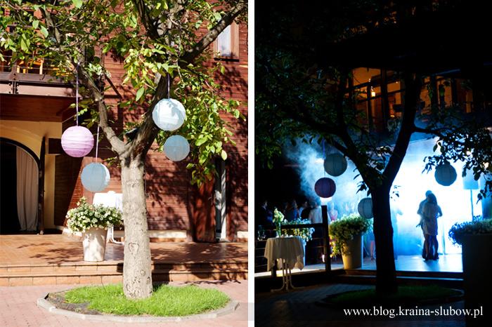 Atmosfera Dekoracjiżyjące Drzewo Mieniące Się światłem I