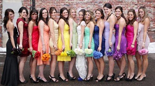 6c1542911d Tęczowe wesele - słodkości
