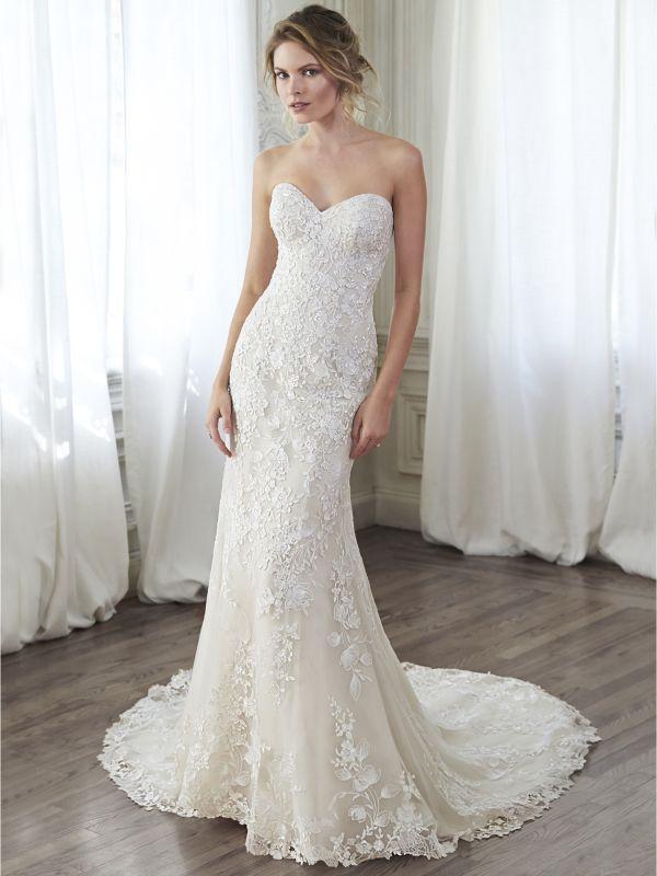 cecd10f504 Maggie Sottero platinum to nowoczesne projekty sukien ślubnych na ...