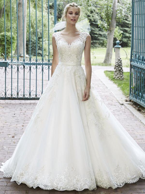 Maggie Sottero Platinum To Nowoczesne Projekty Sukien ślubnych Na