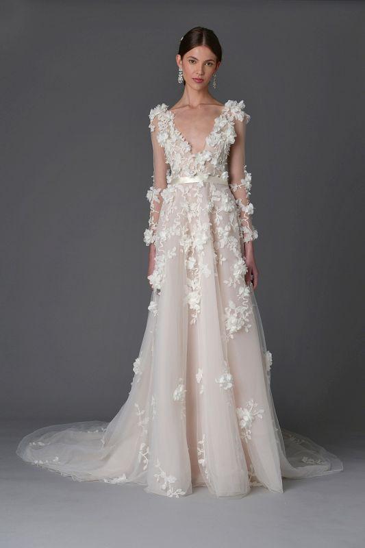 5d5f0a7fb1 Marchesa to cudowne projekty sukien ślubnych na rok 2017