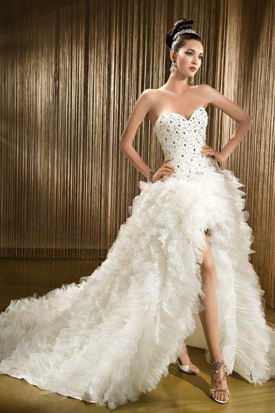 вечерние белые платья фото